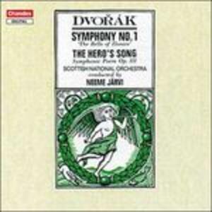 Sinfonia n.1 - CD Audio di Antonin Dvorak