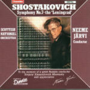 Sinfonia n.7 - CD Audio di Dmitri Shostakovich,Neeme Järvi,Royal Scottish National Orchestra