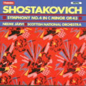 Sinfonia n.4 - CD Audio di Dmitri Shostakovich,Neeme Järvi,Royal Scottish National Orchestra
