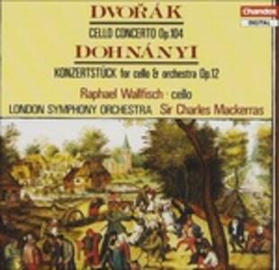 Concerto per violoncello - CD Audio di Antonin Dvorak