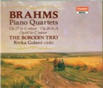 Quartetti con pianoforte - CD Audio di Johannes Brahms