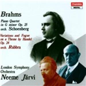 Quartetti orchestrati da Schönberg - CD Audio di Johannes Brahms