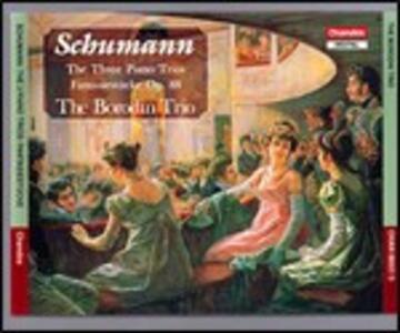 3 Trii con pianoforte - CD Audio di Robert Schumann,Borodin Trio
