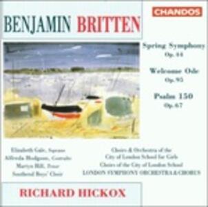 Sinfonia Spring - CD Audio di Benjamin Britten