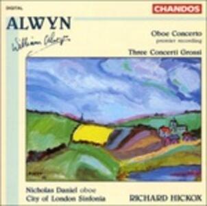 Concerto per oboe - CD Audio di William Alwyn