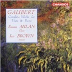 Musica per flauto completa - CD Audio di Philippe Gaubert
