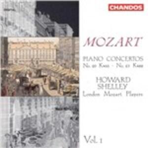 Concerti per pianoforte vol.1 - CD Audio di Wolfgang Amadeus Mozart