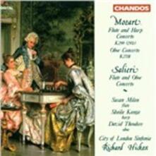 Concerti per flauto e arpa - CD Audio di Wolfgang Amadeus Mozart,Antonio Salieri