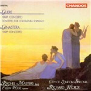 Musica per arpa - CD Audio di Alberto Ginastera,Reinhold Moricevic Glière