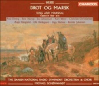 Il re e il maresciallo (Drot Og Marsk) - CD Audio di Peter Heise