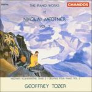 Musica per pianoforte vol.2 - CD Audio di Nikolaj Karlovic Medtner,Geoffrey Tozer
