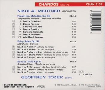 Musica per pianoforte vol.2 - CD Audio di Nikolaj Karlovic Medtner,Geoffrey Tozer - 2