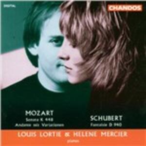 Duetti per pianoforte - CD Audio di Wolfgang Amadeus Mozart,Franz Schubert