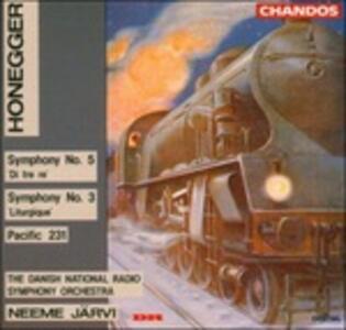 Sinfonie n.1, n.2 - CD Audio di Arthur Honegger