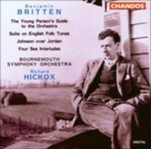 The Young Person's Guide to the Orchestra - CD Audio di Benjamin Britten