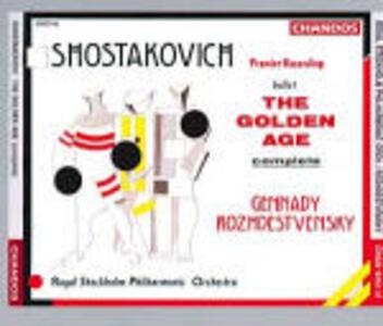 L'Età dell'Oro - CD Audio di Dmitri Shostakovich,Royal Stockholm Philharmonic Orchestra,Gennadi Rozhdestvensky
