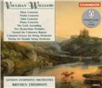 Concerti - CD Audio di Ralph Vaughan Williams