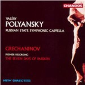 Sette giorni di Passione - CD Audio di Alexander Tikhonovich Grechaninov