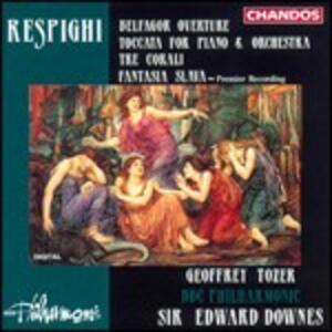 Toccata per pianoforte e orchestra - CD Audio di Ottorino Respighi
