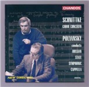 Concerto per coro - CD Audio di Alfred Schnittke