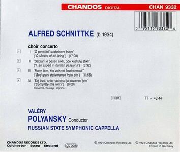 Concerto per coro - CD Audio di Alfred Schnittke - 2