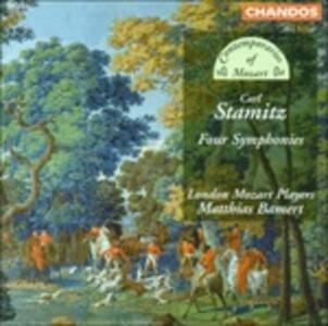 Sinfonie - CD Audio di Carl Stamitz