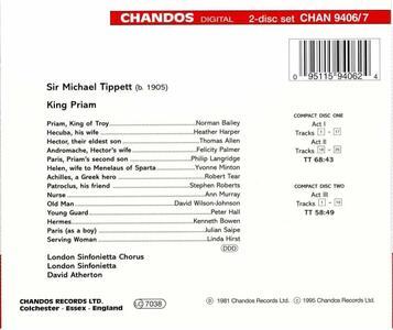 King Priam - CD Audio di Sir Michael Tippett - 2