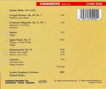 Opere orchestrali - CD Audio di Gustav Holst - 2