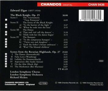 The Black Knight - CD Audio di Edward Elgar - 2