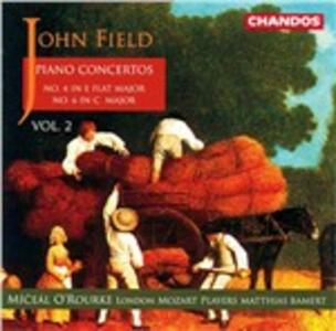 Concerti per pianoforte n.4 , n.6 - CD Audio di John Field