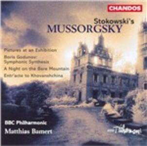 Arrangiamenti orchestrali - CD Audio di Modest Petrovich Mussorgsky