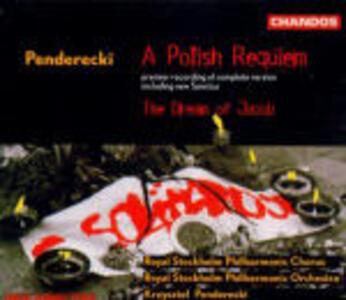 Un Requiem polacco - Il sogno di Giacobbe - CD Audio di Krzysztof Penderecki