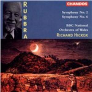 Sinfonie n.2, n.6 - CD Audio di Edmund Rubbra