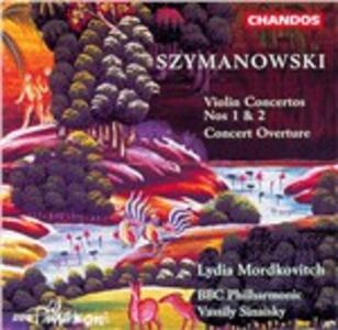 Concerti per violino - CD Audio di Karol Szymanowski