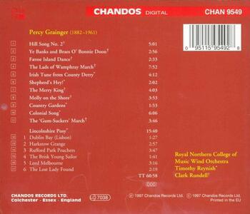 Opere per orchestra di fiati - CD Audio di Percy Grainger - 2
