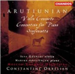 Concerto per violino - CD Audio di Alexander Arutiunian
