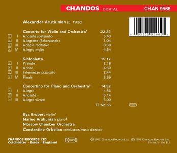 Concerto per violino - CD Audio di Alexander Arutiunian - 2