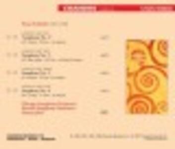 Sinfonie n.1, n.2, n.3, n.4 - CD Audio di Franz Schmidt