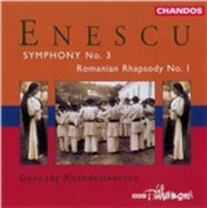 Sinfonia n.3 - CD Audio di George Enescu