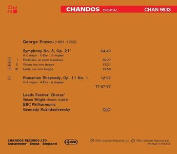 Sinfonia n.3 - CD Audio di George Enescu - 2