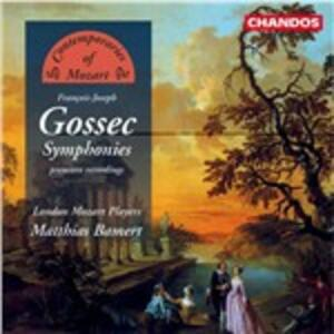 Sinfonie - CD Audio di François-Joseph Gossec