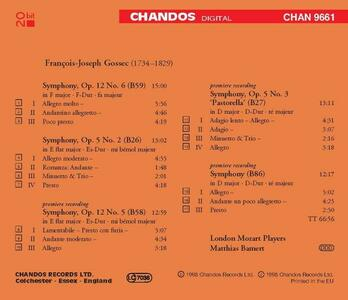 Sinfonie - CD Audio di François-Joseph Gossec - 2