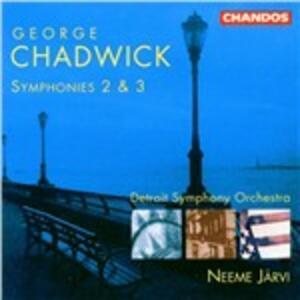 Sinfonie n.2, n.3 - CD Audio di George Whitefield Chadwick