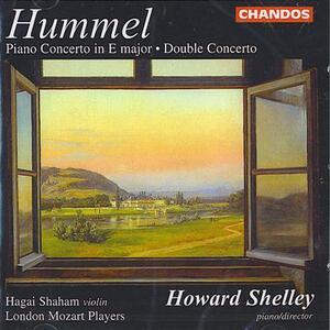 Concerto per pianoforte - Doppio Concerto - CD Audio di Johann Nepomuk Hummel