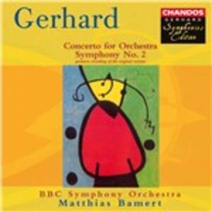 Sinfonia n.2 - CD Audio di Robert Gerhard