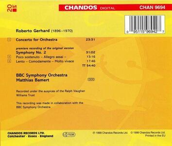 Sinfonia n.2 - CD Audio di Robert Gerhard - 2