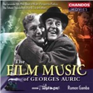 Musica da film - CD Audio di Georges Auric