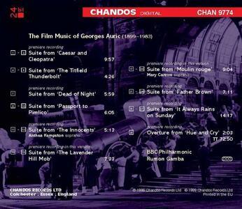 Musica da film - CD Audio di Georges Auric - 2