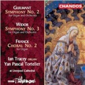 Opere per organo - CD Audio di César Franck,Charles-Marie Widor,Felix Alexandre Guilmant