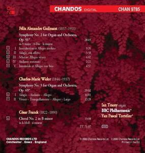 Opere per organo - CD Audio di César Franck,Charles-Marie Widor,Felix Alexandre Guilmant - 2